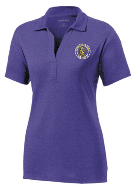 * * * Kauluwela Elementary Staff * * *LADIES Sport-Tek Heather Contender Polo (LST660)