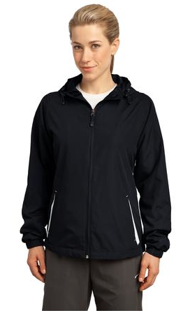 Iliahi Elementary School: Sport-Tek® Ladies Colorblock Hooded Raglan Jacket