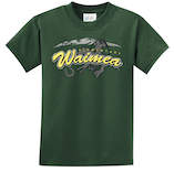 Waimea Elementary - Uniform T-Shirt - Forest Green