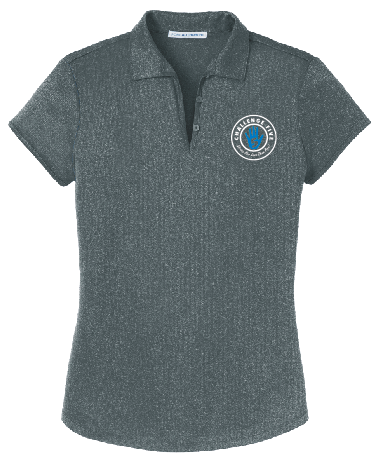 Leilehua Complex - Ladies Port Authority Trace Heather Polo (L576)