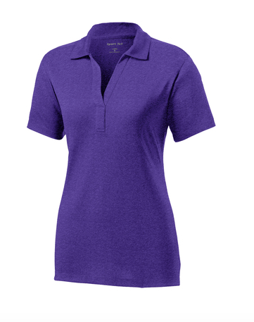 KAPOLEI MIDDLE STAFF - Sport-Tek® Ladies Heather Contender™ Polo. LST660