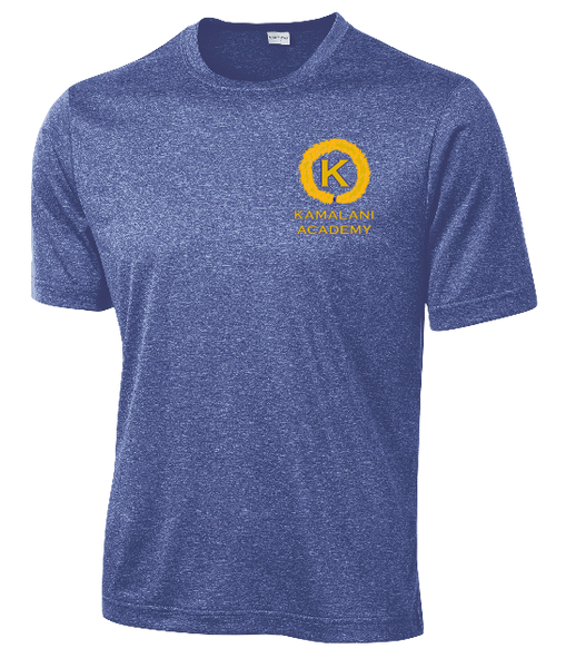 Kamalani Academy - Heather Short Sleeve Dri-fit