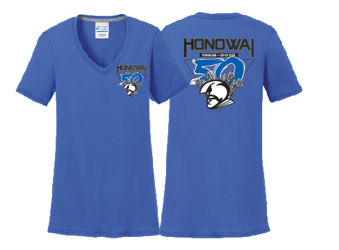 50th Anniversary Honowai Elementary - Women's V-Neck