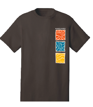 Kawaikini PCS - Middle & High School: Uniform Short Sleeve (Brown)