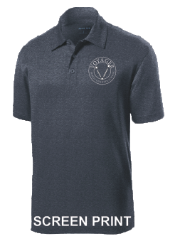 Voyager PCS Staff - Mens Performance Polo (ST660) PRINT