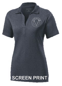 Voyager PCS Staff - Ladies Performance Polo (LST660) PRINT