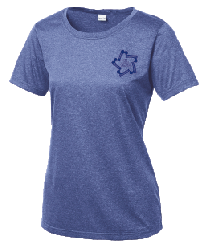 Kapunahala School - Ladies Dri-Fit (Royal Heather)