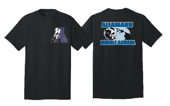 Aliamanu Middle Supporter - T-Shirt: Tribal Design