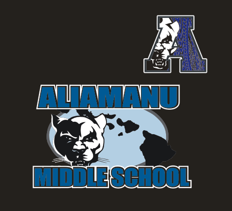 Aliamanu Middle Supporter - Performance Dri-Fit Shirt: Tribal Design