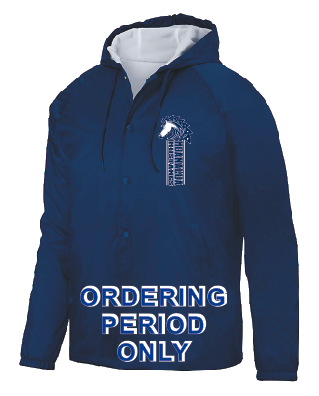 Moanalua Middle School - Hooded Coaches Jacket