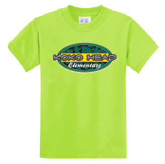 Koko Head Elementary - Uniform (Safety Green)