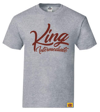 King Intermediate Uniform - Unisex Tee - Athletic Heather