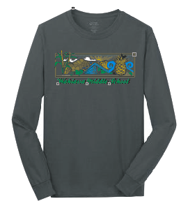 Wahiawa Middle School - Long Sleeve - Charcoal