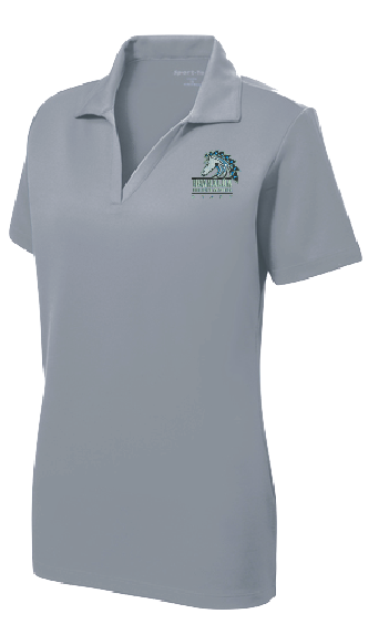 Moanalua Middle Staff -  Ladie's Sport-Tek PosiCharge RacerMesh Polo (LST640)
