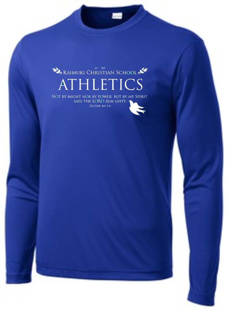 Kaimuki Christian Athletics- Dri Fit Long Sleeve (New)