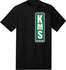 Kapaa Middle School Uniform T-Shirt - 7th Grade (Black)