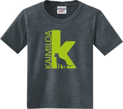Kaimiloa Elementary School Uniform * * * New Design * * * Charcoal Heather