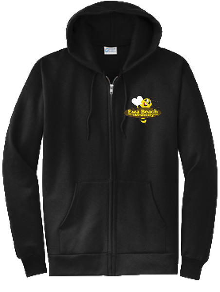 (OLD DESIGN)Ewa Beach Elementary School - Zipper Hoodie
