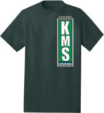 Kapaa Middle School Uniform T-Shirt - 8th Grade (Forest Green)