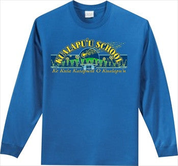 Kualapuu Elementary School - Long Sleeve - Royal Blue