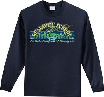 Kualapuu Elementary School - Long Sleeve - Navy Blue