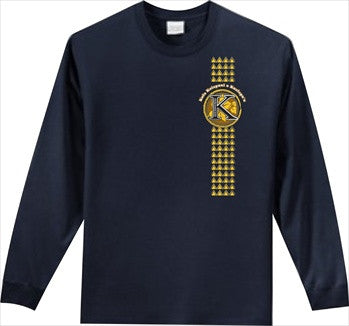 Kula Kaiapuni Elementary School - Long Sleeve - Navy Blue