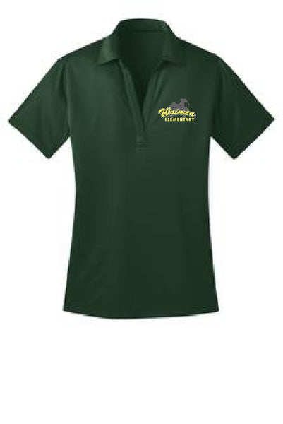 ***Waimea Elementary Staff*** Ladies Silk Touch L540 Performance Polo