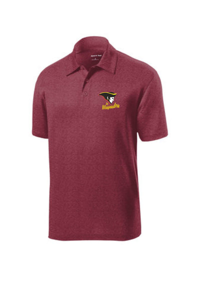 Waipahu Inter Jr. Marauders Unisex Heather Polo