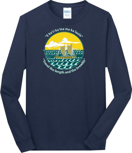 Kanuikapono - Long Sleeve (Navy)