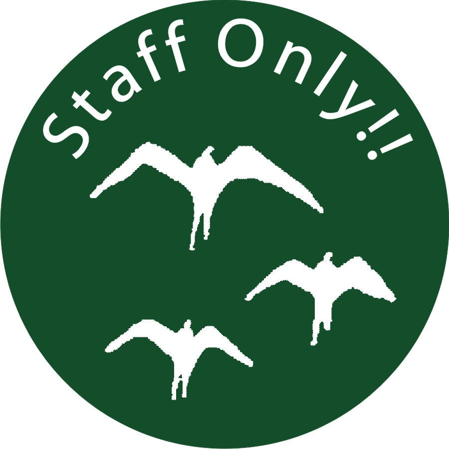 Staff Only- Custom Printing (Iwa Bird Logo)