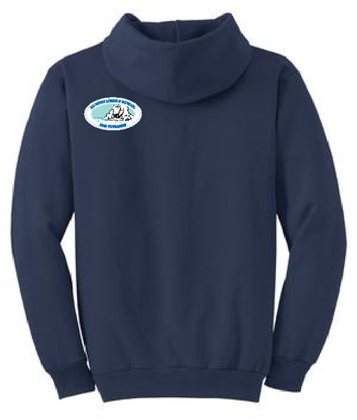 Kaimuki Middle School - Pull Over Hoodie - Navy Blue