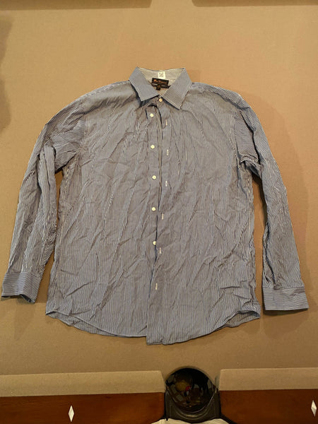 Ben Sherman Long Sleeve Dress Shirt (Tailoring Included)