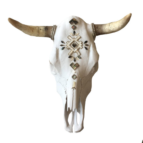 Child of Wild Bones Moroccan Moon Cow Skull