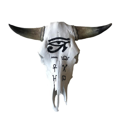 Child of Wild Bones Eye of Horus Cow Skull