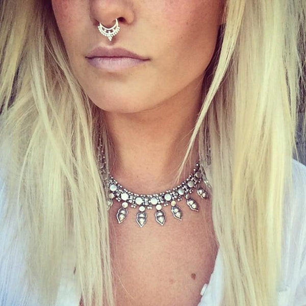 Queen Cleopatra Nose Ring - Faux and Real - Child of Wild  - 2