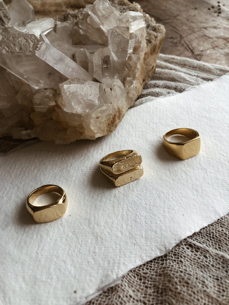 Studio Grun Jewelry Hex Ring
