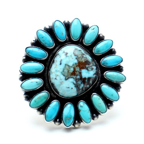 Canyon Flower Navajo Ring - Child of Wild  - 1