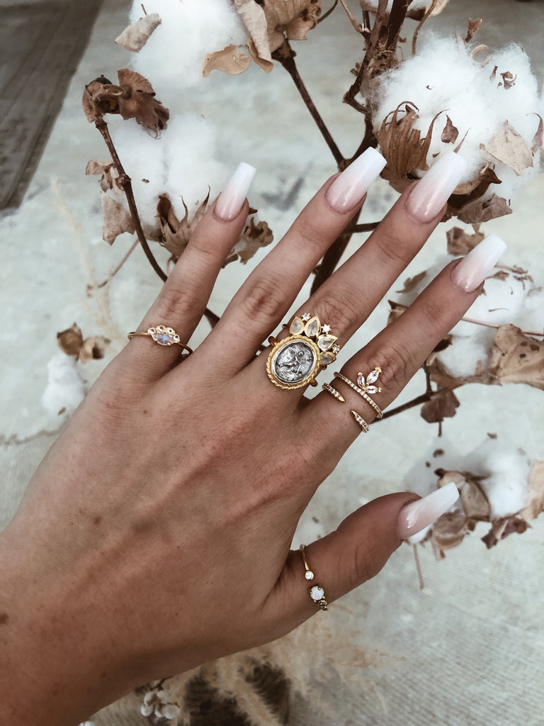LA KAISER Jewelry Diamond Talon Ring