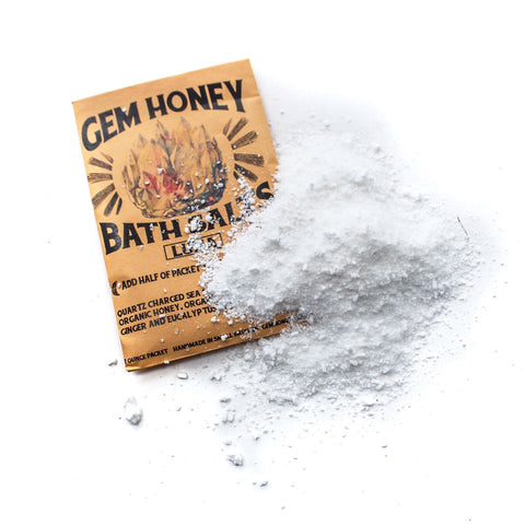 Gem Honey Bath Salts - Child of Wild  - 1