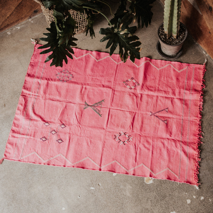 Morocco Objects 5 ft. x 3 ft. / Multi / FINAL SALE Agadir Cactus Silk Weaving