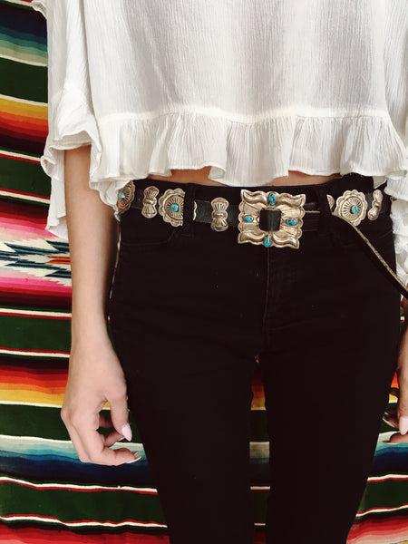 Desert Tripper Navajo Concho Belt - Child of Wild  - 4