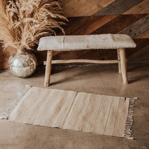 Rugs Objects Natural / FINAL SALE Natural Zapotec Weaving