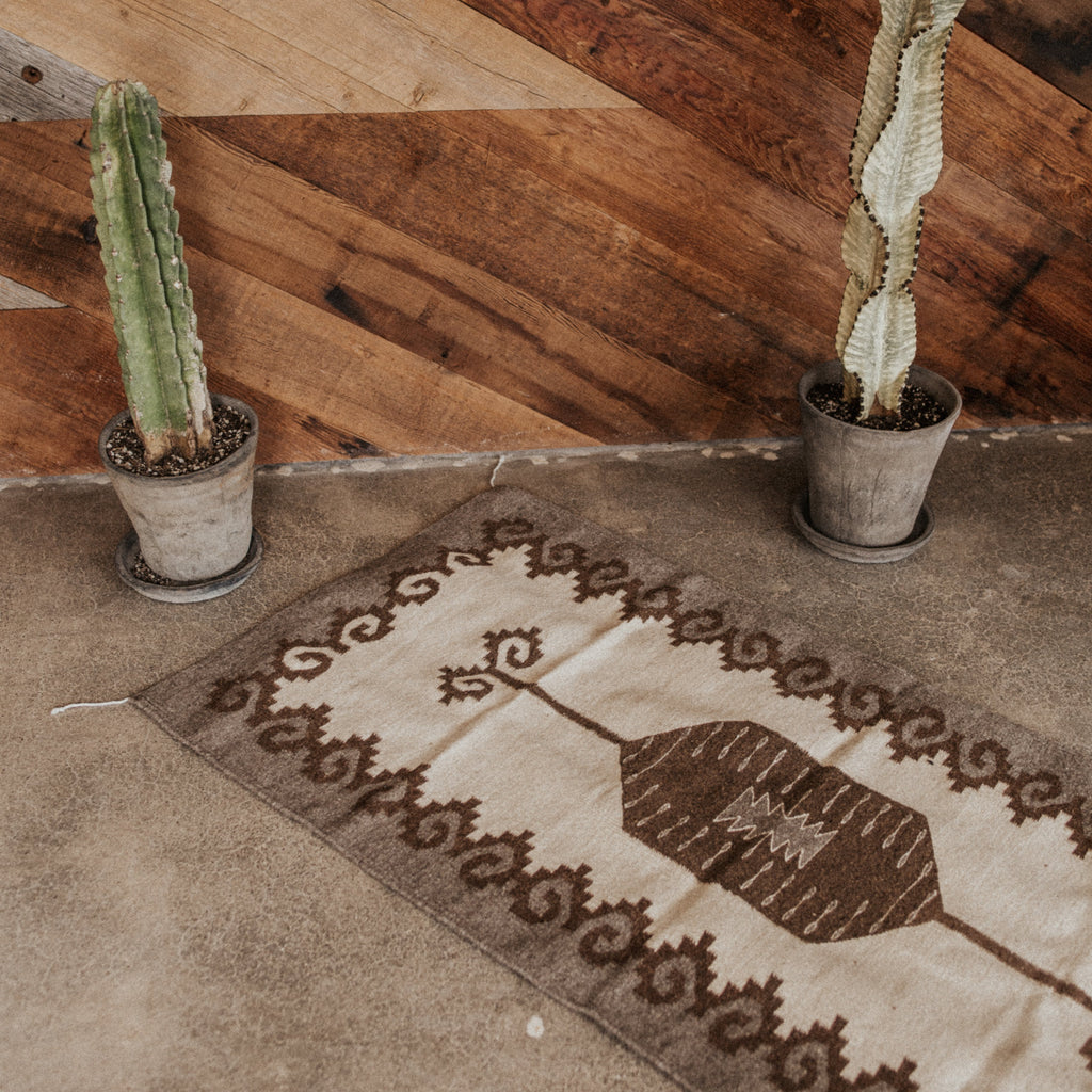 Rugs Objects Grey / FINAL SALE Smoke Rings Zapotec Weaving