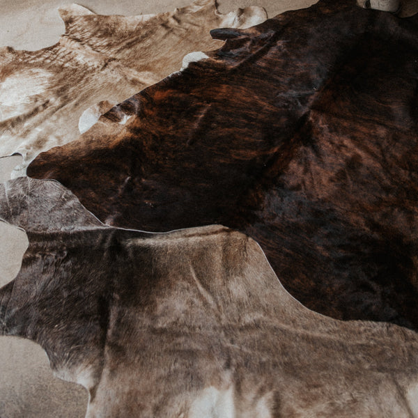 BS Trading Co Objects Tan / 7' x 5' / FINAL SALE Natural Cowhide