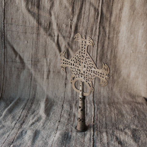 Ethiopia Objects Style 1 / FINAL SALE Ethiopian Coptic Cross