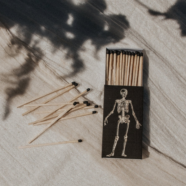 Homart Objects Black / FINAL SALE Skeletal Match Box