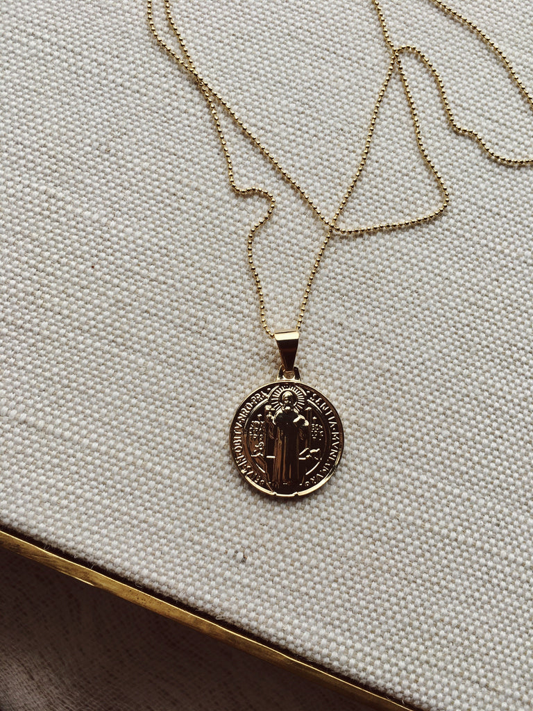 Dona Italia Jewelry Holy Traveler Necklace