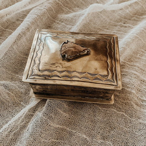 J. Alexander Objects Silver / FINAL SALE Petite Arrowhead Keepsake Box