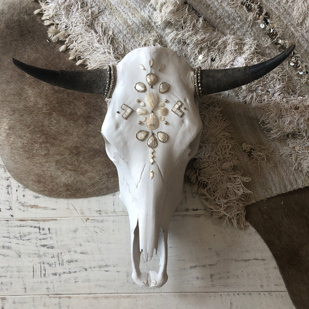 Child of Wild Bones Moonlit Tribes Cow Skull