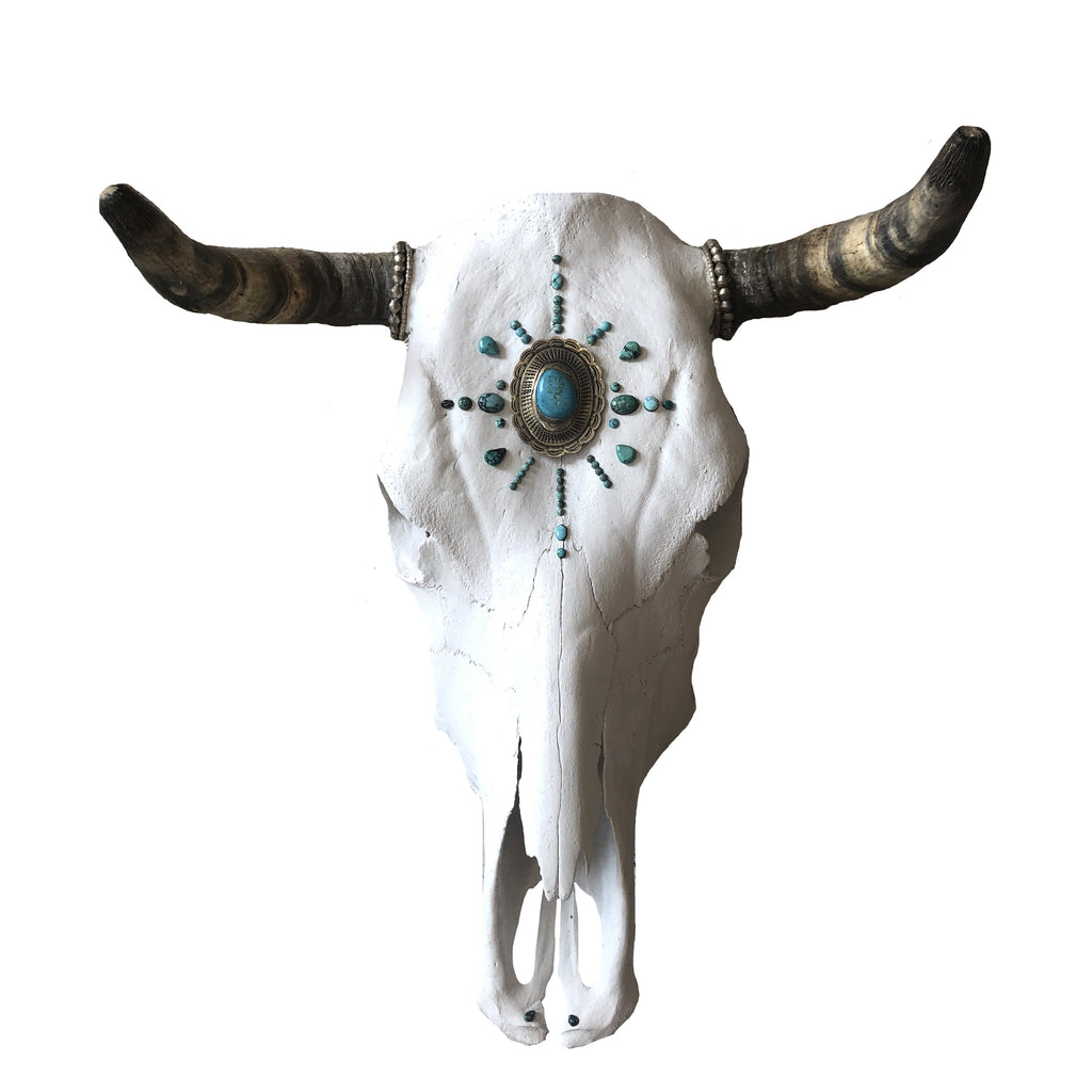 Child of Wild Bones Native Tribes Cow Skull